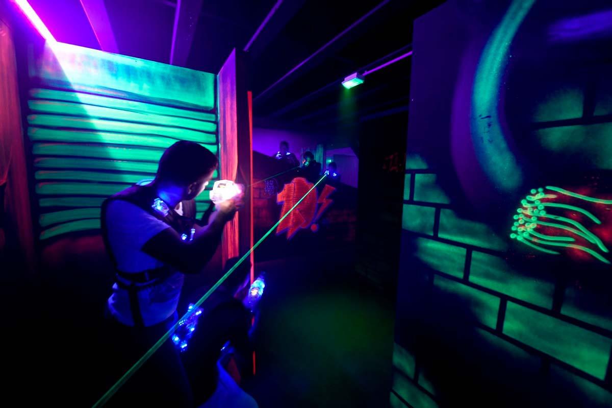 Le plein de sensations au laser game Baillargues